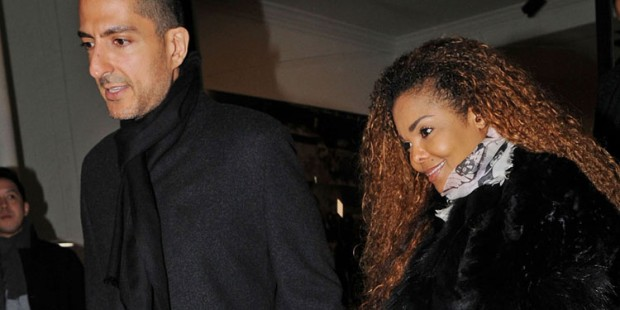Janet Jackson And Wissam Al Mana At The Lazarides Art Gallery