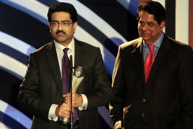 Kumar Mangalam Birla With Forbes India Leadership Award