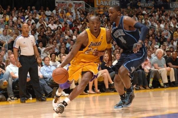 Kobe in NBA Playofffs Match