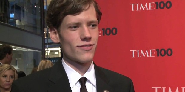 Christopher Poole At Times Red Carpet