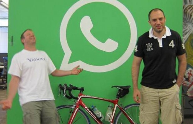 Brian Acton with Jan Koum