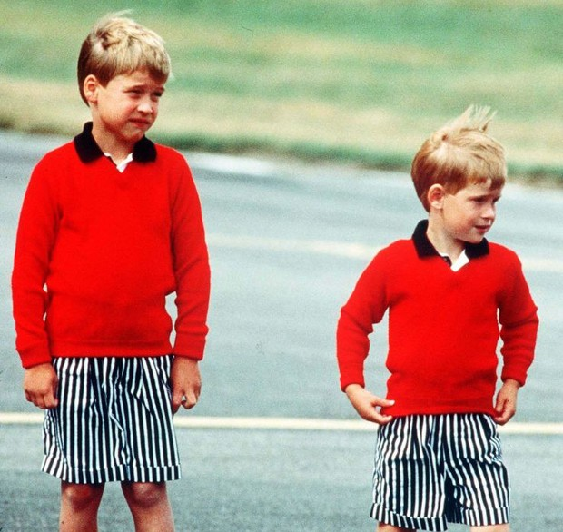 Prince Harry Childhood