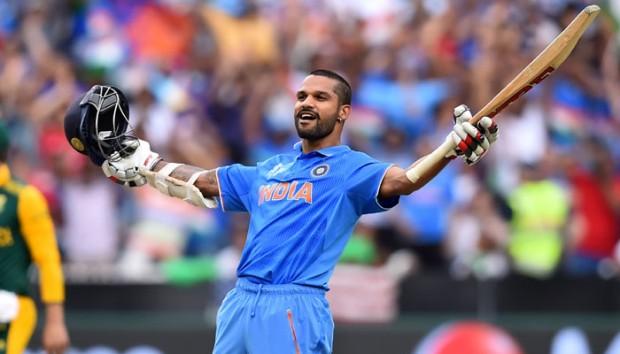Dhawan hit a fabulous 137 runs against South Africa