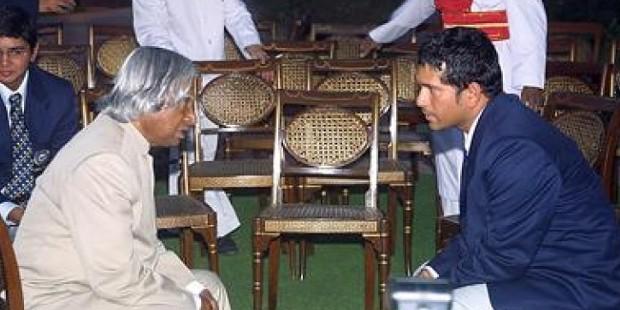 Sachin with Abdul Kalam