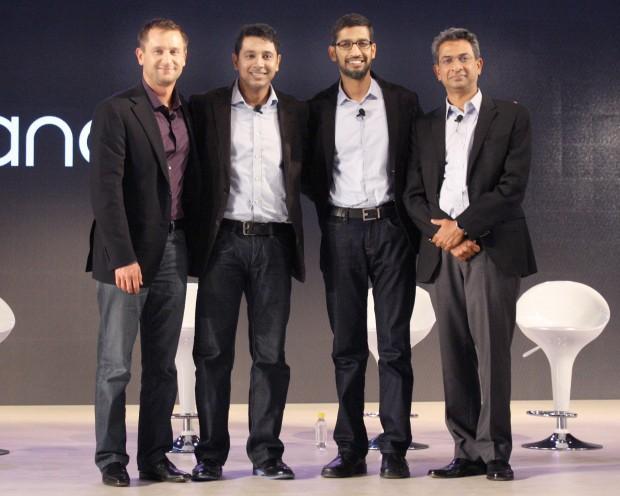 Pichai With Google Executives