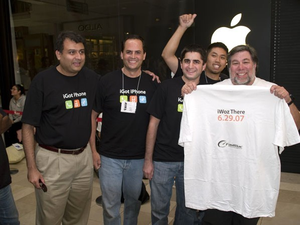 Steve Wozniak at Apple Company
