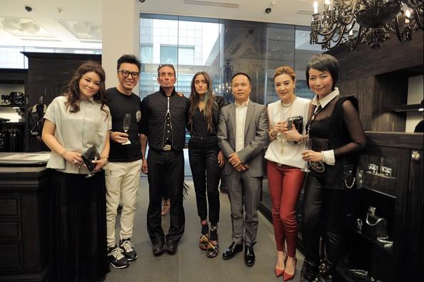 Shen Guojun at Chrome Hearts Store