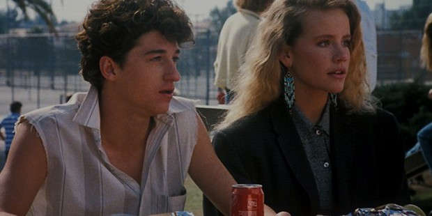 Amanda Peterson with Patrick Dempsey