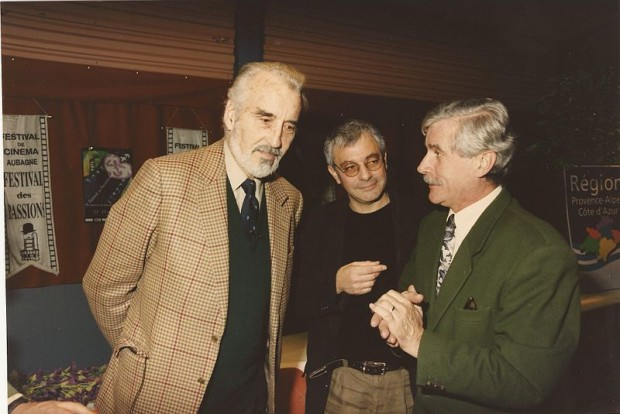 Christopher Lee At Aubagne International Film Festival