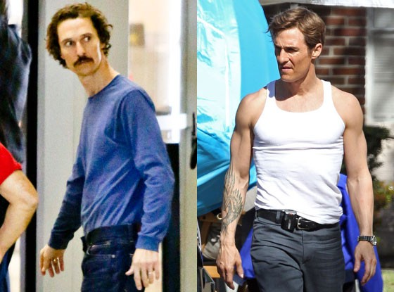Matthew McConaughey Lost Weight for Dallas Movie