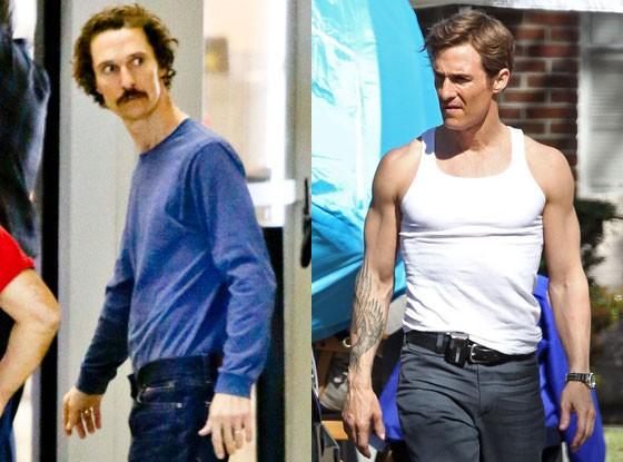 Matthew McConaughey Lost Weight for Dallas Movie