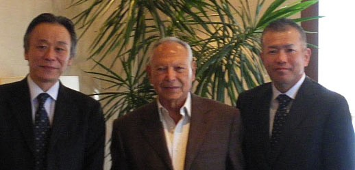 Onsi Sawiris with Orascom Trading Executives