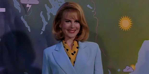 Kidman in the movie To Die For in 1995, she won her first Golden Globe Award for this movie