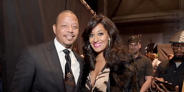 Terrence Howard and Tracee Ellis Ross