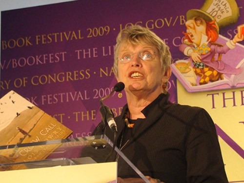 Lois Lowry Reading His Book