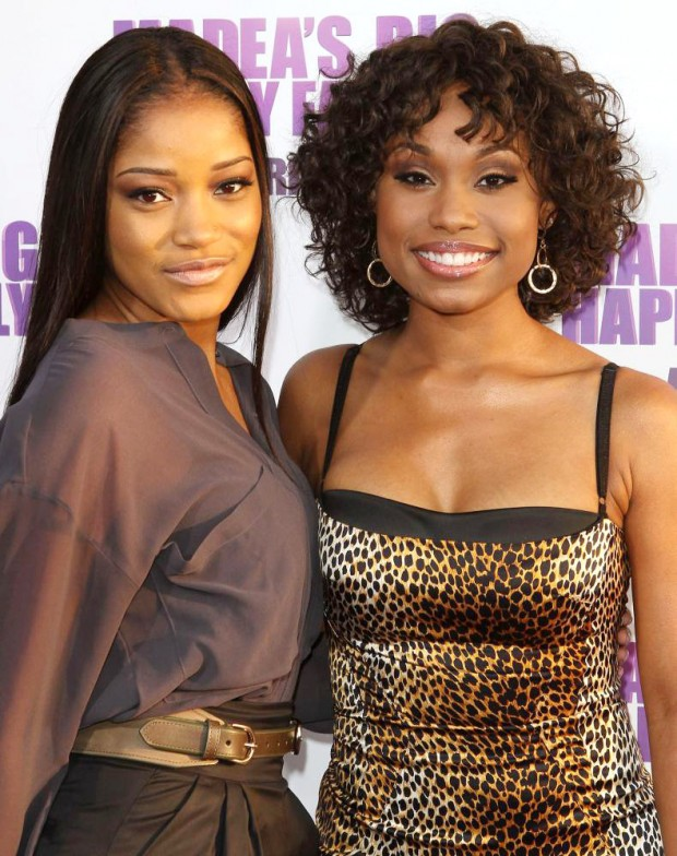 Keke Palmer with Angell Conwell