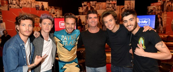One Direction With SimonCowell