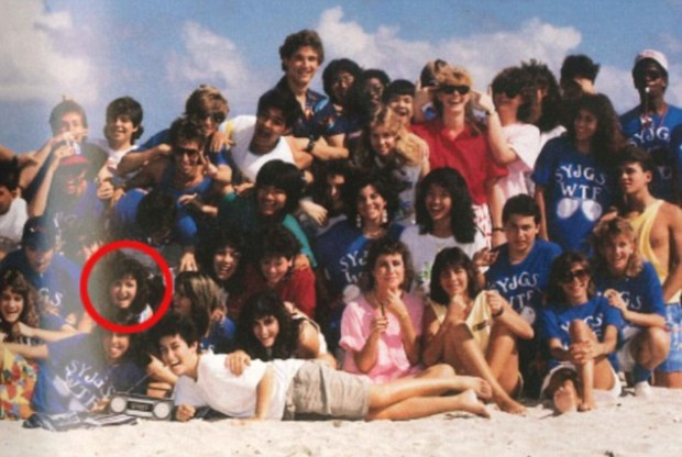 Sheryl Sandberg and her classmates at North Miami Beach Senior High School