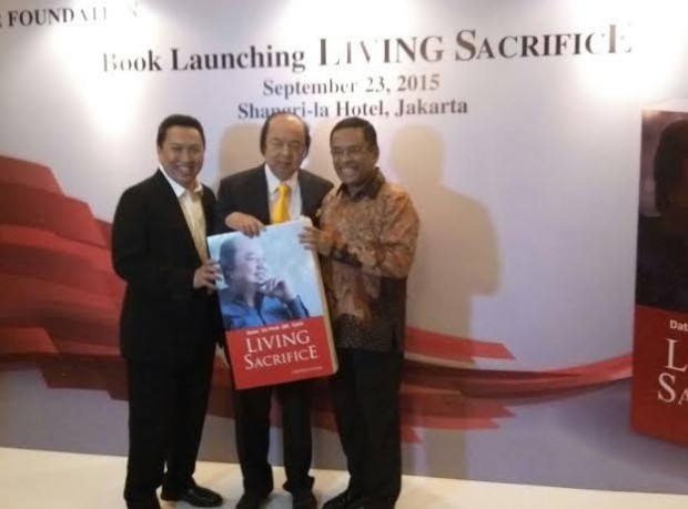 Dato Sri Tahir At the Launching Of The Book