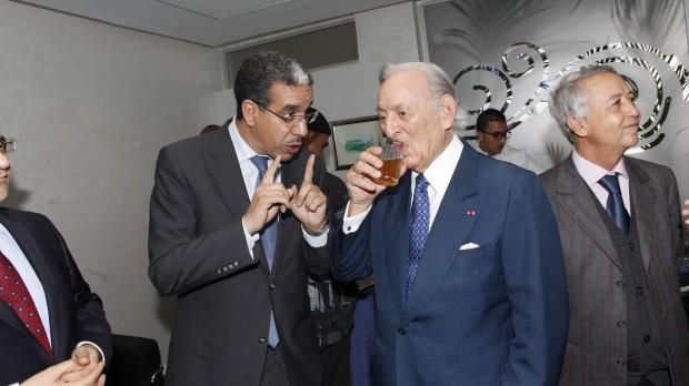 Othman Benjelloun At An Event