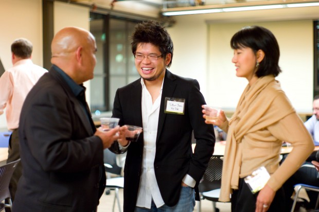 Kamran Elahian, Steve Chen, With Jamie Chen