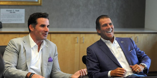 Kevin Plank with Steve Bisciotti
