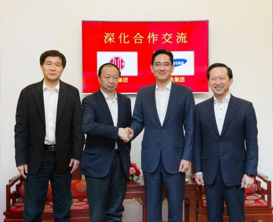 Samsung VP Lee Jae-yong joins hands with Chinese CITIC Group for Financial Business