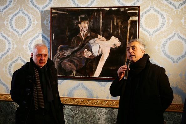 Francesco Bonami and Stefano Boeri attend 'Bob Dylan'