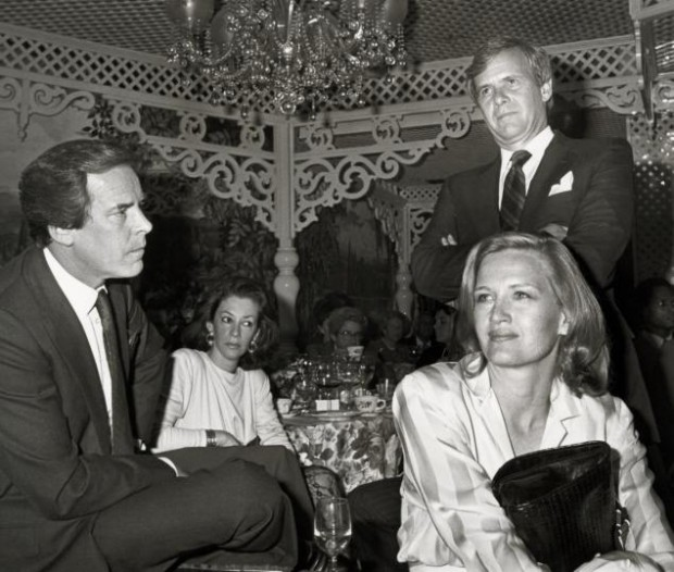 Peter Jennings, Diane Sawyer with Tom Brokaw during The Coro Foundations