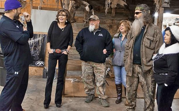 Sarah Palin With The Duck Dynasty