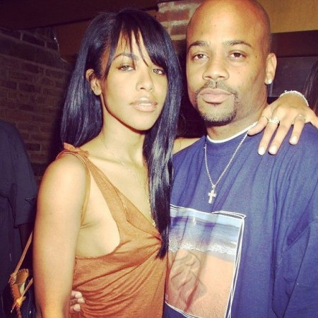 Damon Dash With Aaliyah