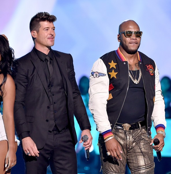 Flo Rida with Robin Thicke
