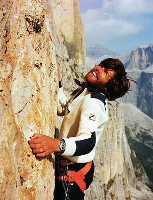 Reinhold Messner Climbing