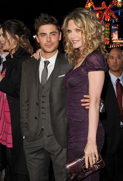 Michelle Pfeiffer with Zac Efron at event of New Years Eve