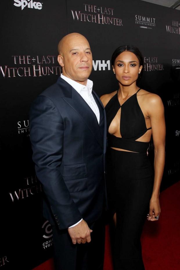 Vin Diesel with Ciara