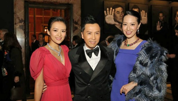 Zhang Ziyi With Donnie Yen and Cissy Wang