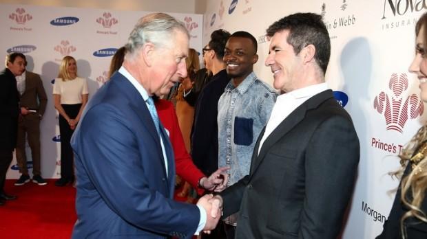 Prince Charles meets Simon Cowell