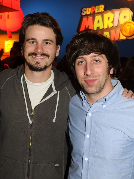 Jason Ritter with Simon Helberg
