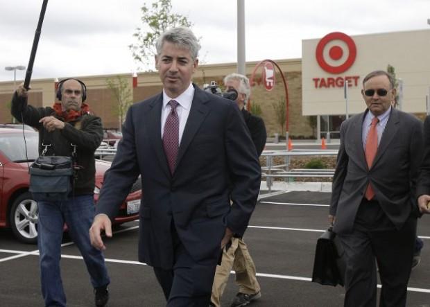 Bill Ackman at Target company