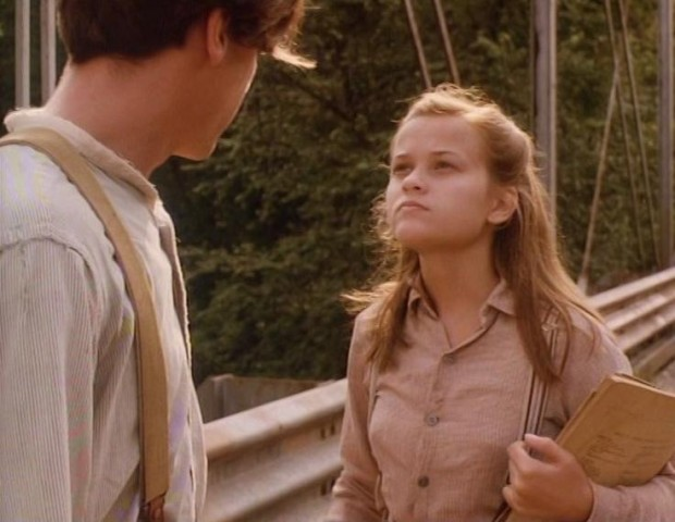Young Reese Witherspoon in Wildflower Movie