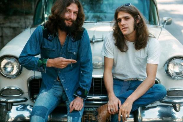 Glenn Frey in his teenage