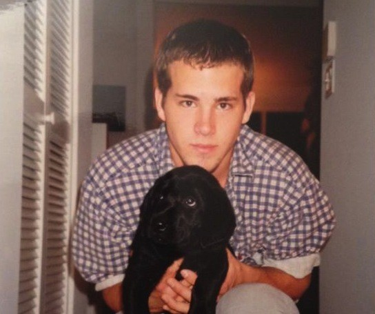 Ryan Reynolds in his teenage