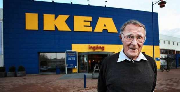Ingvar Kamprad At IKEA