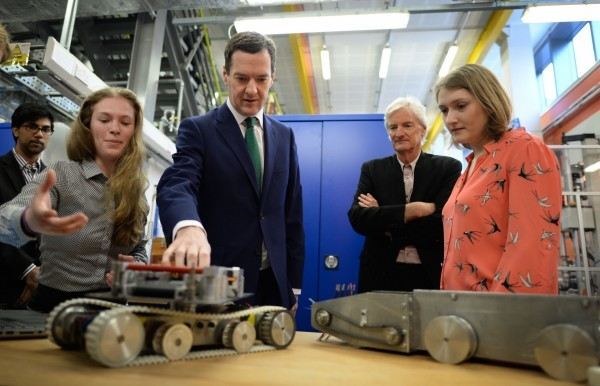 James Dyson with George Osborne