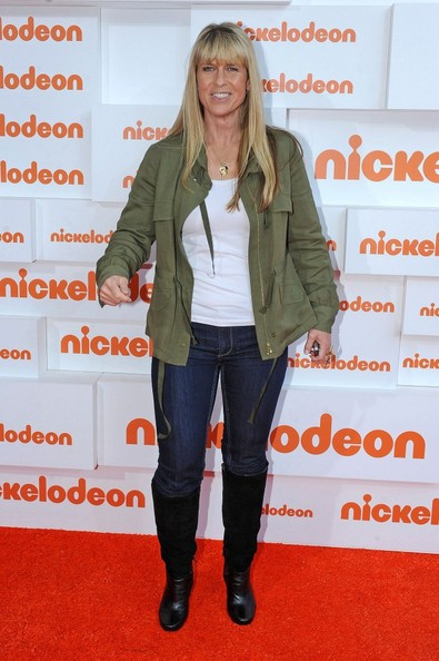 Terri Irwin at Nickolodeon Kids Choice Awards