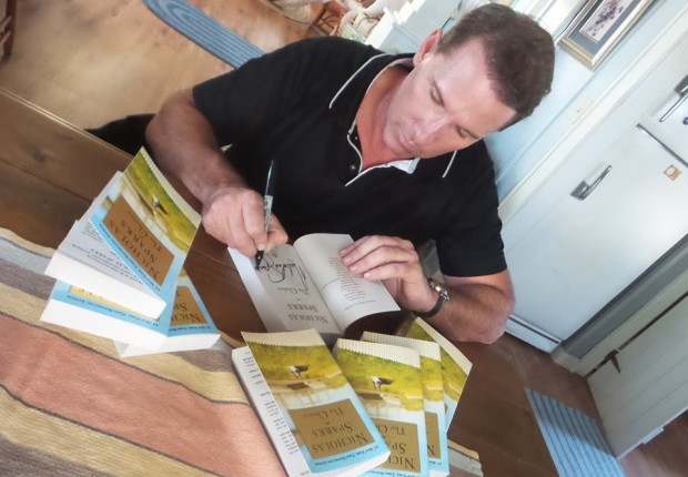 Nicholas Sparks signed a handful of Copies of TheChoice