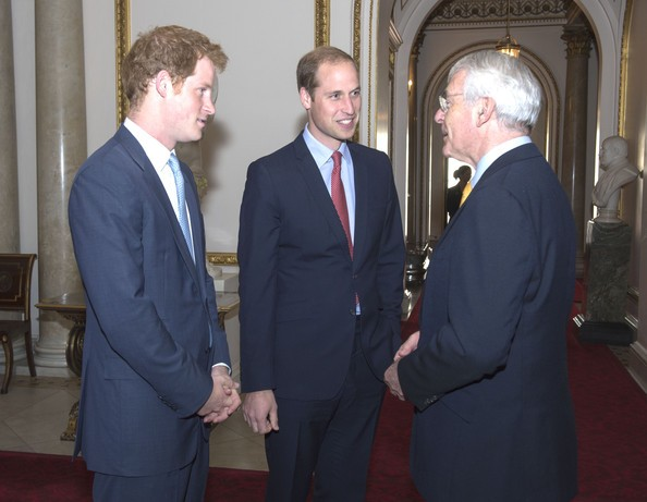 John Major at The Queen's Young Leaders Programme