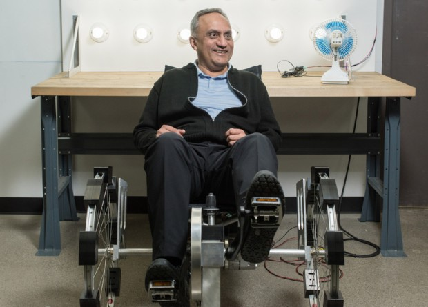 Manoj Bhargava on the Electricity Generating Bicycle