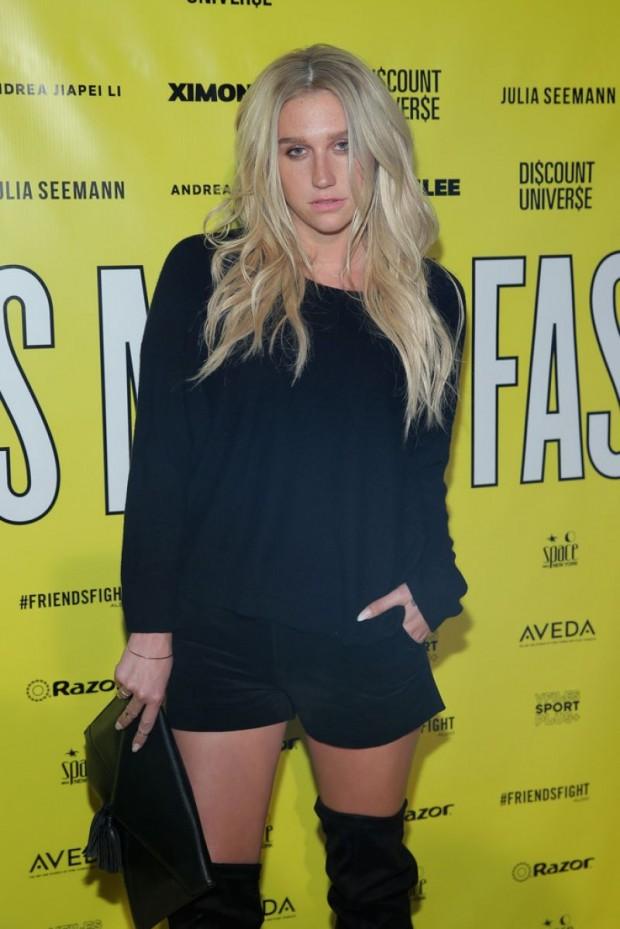 Kesha At Fashion Show