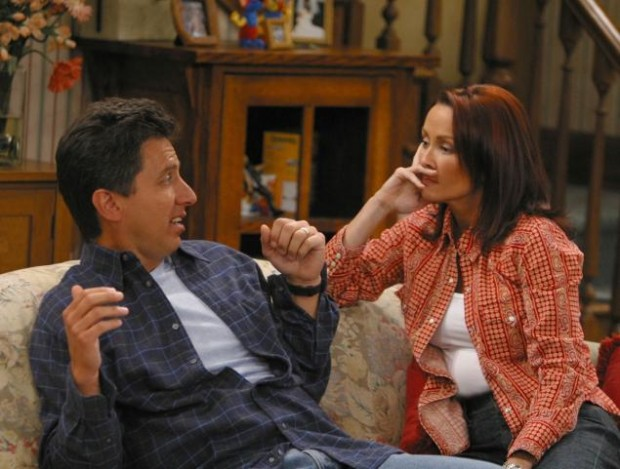 Ray Romano and Patricia Heaton in Everybody Loves Raymond